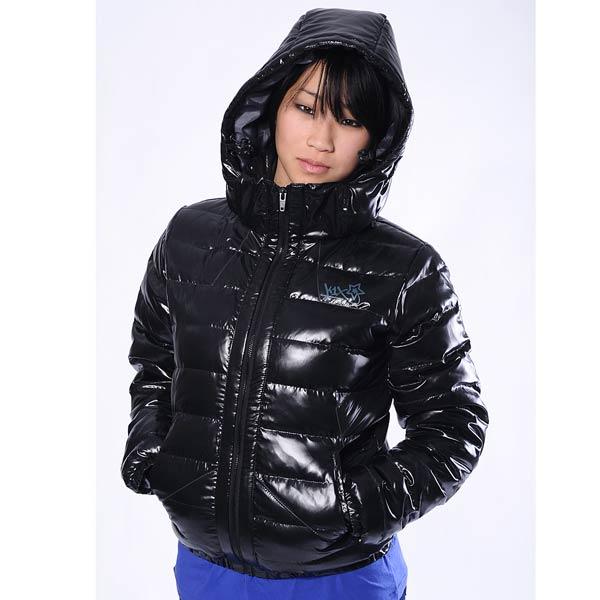 женскую черную  куртку keep em cozy jacket mk2 6100-0045/0823 - цена, описание, фото 1