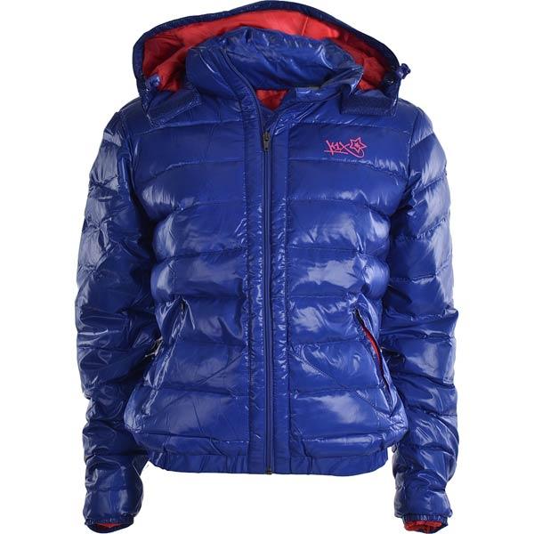 Куртка keep em cozy jacket mk2Куртки, пуховики<br>65% полиэстер 35% вискоза<br><br>Цвет: синий<br>Размеры US: M;L