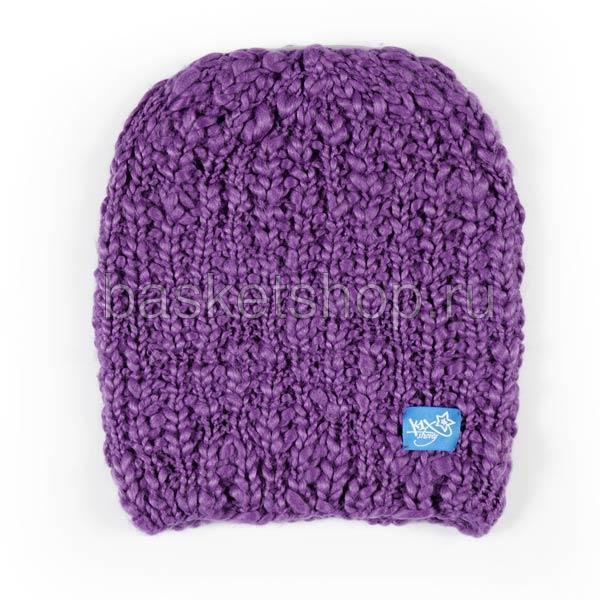 женскую фиолетовую  шапка 6800-0010/4465 - цена, описание, фото 1