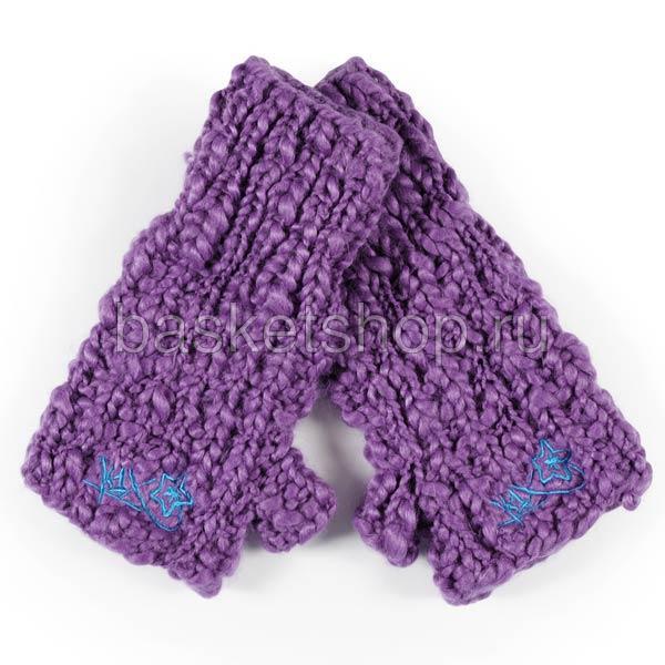 Купить женские фиолетовые  варежки k1x в магазинах Streetball изображение - 1 картинки