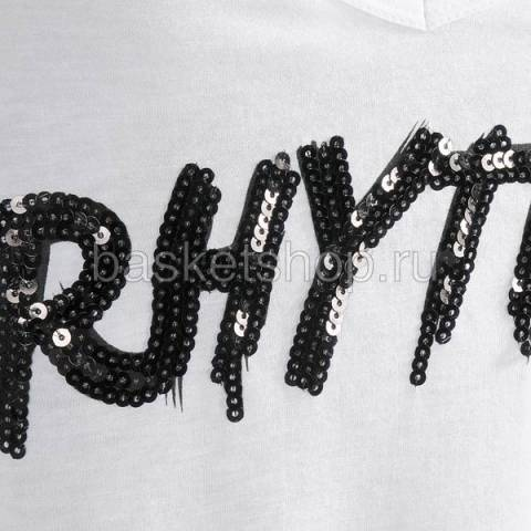 женский белый  rhythm tee 6200-0053/1000 - цена, описание, фото 2