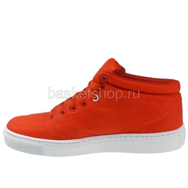 Купить мужской красный, белый  backstab cnvs в магазинах Streetball изображение - 2 картинки