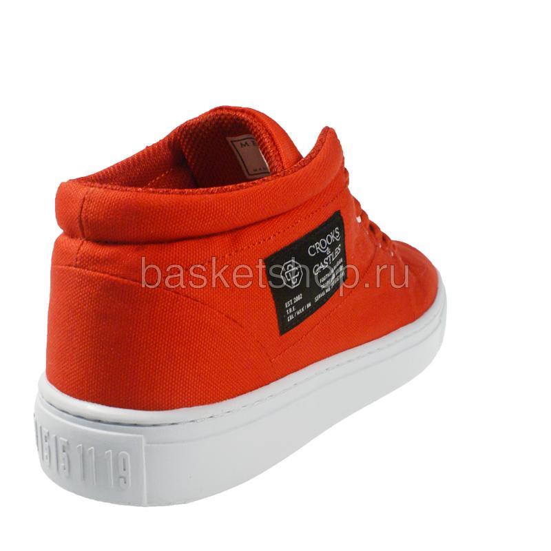 Купить мужской красный, белый  backstab cnvs в магазинах Streetball изображение - 3 картинки