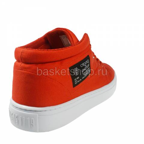 Купить мужской красный, белый  backstab cnvs в магазинах Streetball - изображение 3 картинки