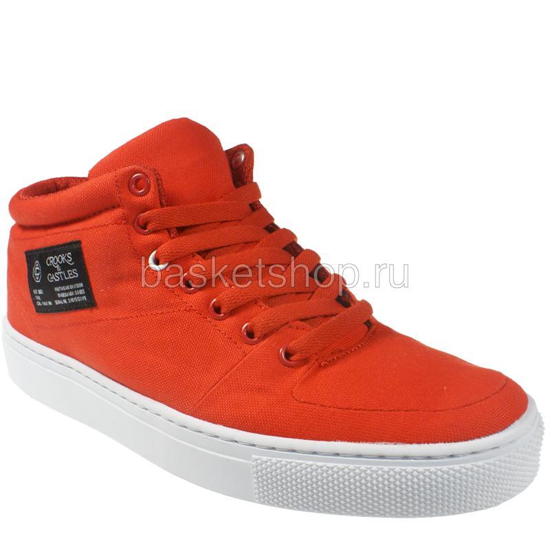 Backstab cnvsКроссовки lifestyle<br>текстиль, резина<br><br>Цвет: красный, белый<br>Размеры US: 9.5<br>Пол: Мужской