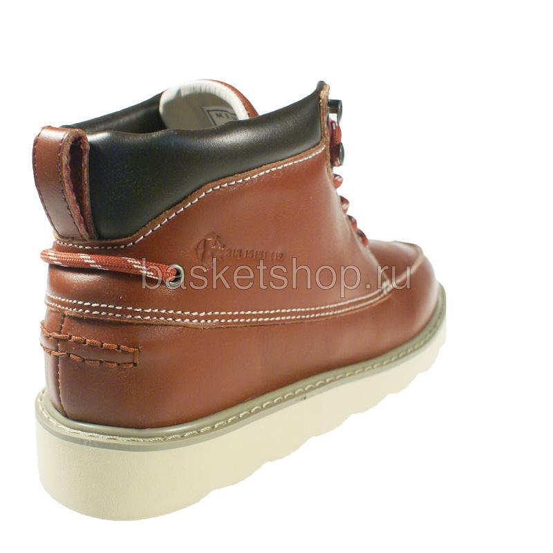 Купить мужской коричневый, бежевый  ruffian leather в магазинах Streetball изображение - 3 картинки