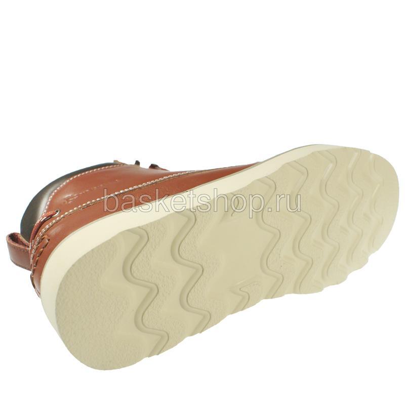 Купить мужской коричневый, бежевый  ruffian leather в магазинах Streetball изображение - 4 картинки