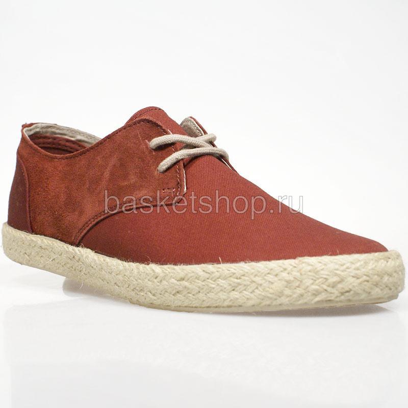 Ботинки ChesterБотинки<br>текстиль, резина<br><br>Цвет: бордовый<br>Размеры EUR: 41;42<br>Пол: Мужской