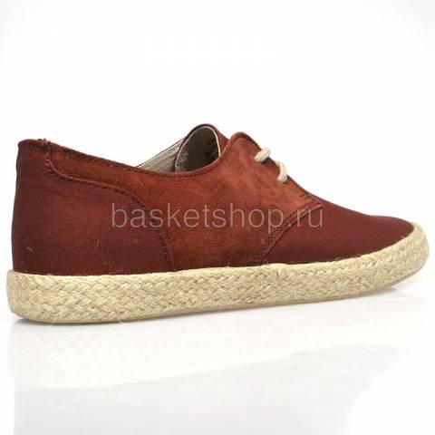 Купить мужские бордовые  ботинки chester в магазинах Streetball - изображение 3 картинки