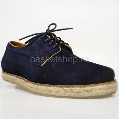 мужские темно-синие  ботинки willard I012997P35794F-EAES - цена, описание, фото 1