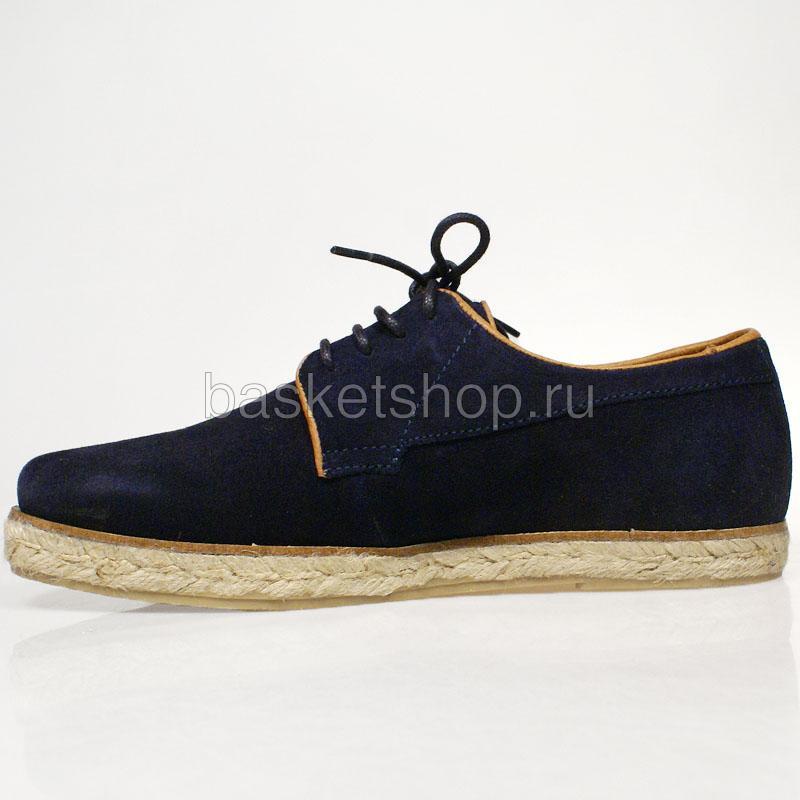 мужские темно-синие  ботинки willard I012997P35794F-EAES - цена, описание, фото 2