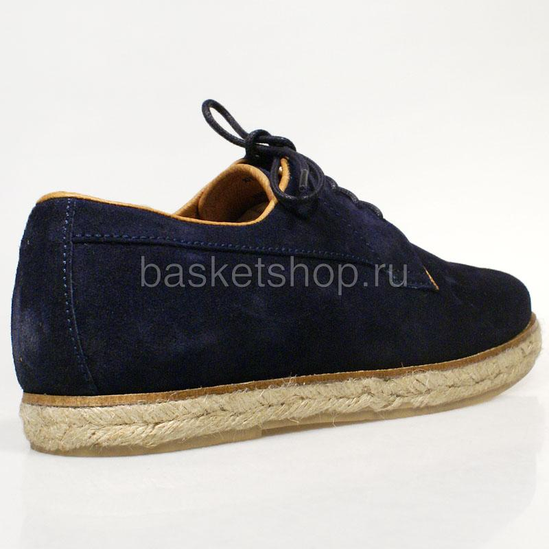 Купить мужские темно-синие  ботинки willard в магазинах Streetball изображение - 3 картинки