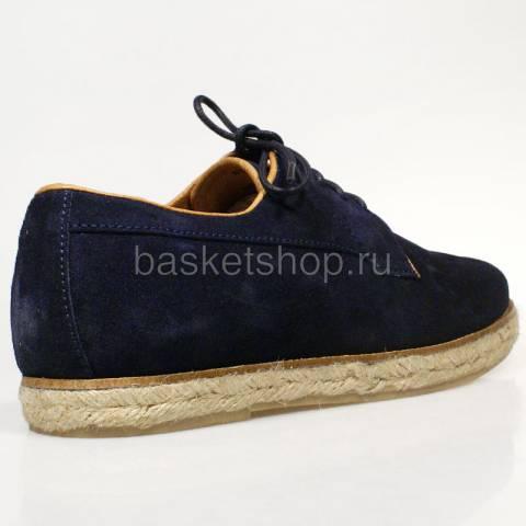 мужские темно-синие  ботинки willard I012997P35794F-EAES - цена, описание, фото 3
