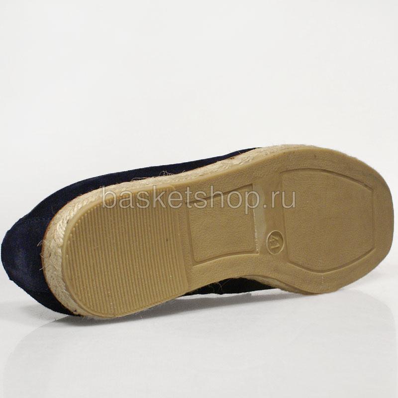 Купить мужские темно-синие  ботинки willard в магазинах Streetball изображение - 4 картинки