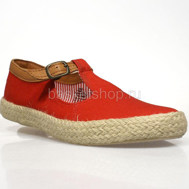 Купить женские красные  ботинки corey в магазинах Streetball изображение - 1 картинки