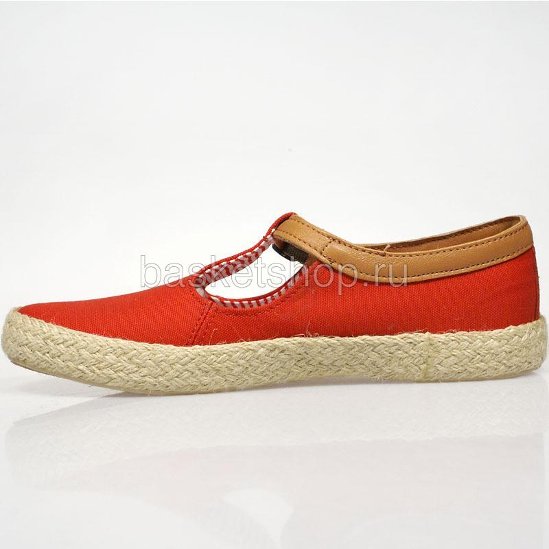 Купить женские красные  ботинки corey в магазинах Streetball изображение - 2 картинки