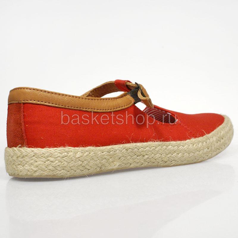 Купить женские красные  ботинки corey в магазинах Streetball изображение - 3 картинки