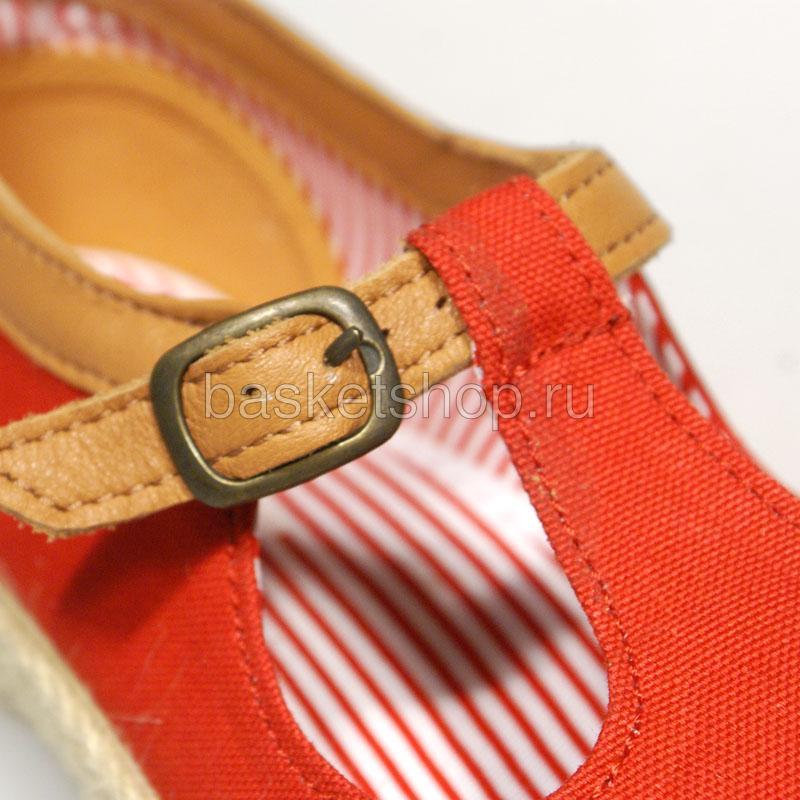 Купить женские красные  ботинки corey в магазинах Streetball изображение - 5 картинки