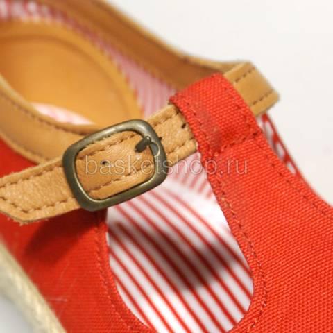 Купить женские красные  ботинки corey в магазинах Streetball - изображение 5 картинки