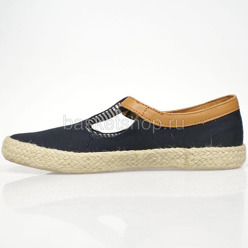 женские синие  ботинки corey I013003-P2518L8-77ES - цена, описание, фото 2