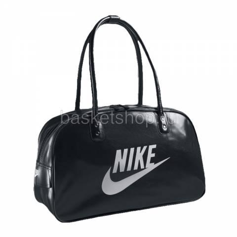 Купить черные сумки Nike HERITAGE SI TRACK BAG BA4271.