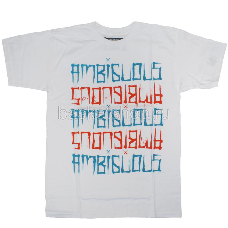 Футболка TypesterФутболки<br>хлопок<br><br>Цвет: белый, красный, синий<br>Размеры US: S<br>Пол: Мужской