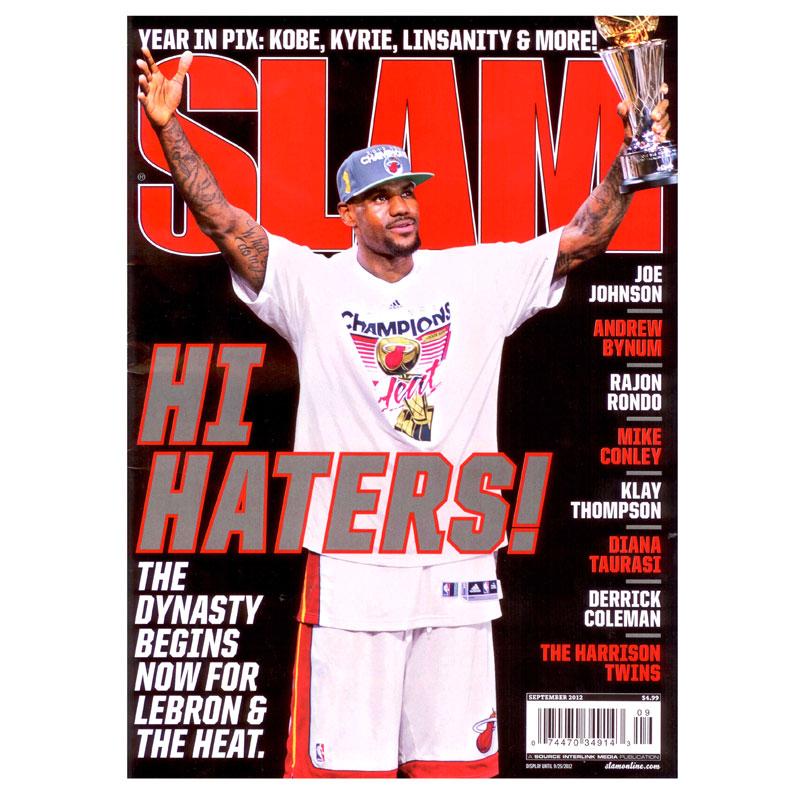 Купить  журнал slam в магазинах Streetball изображение - 1 картинки
