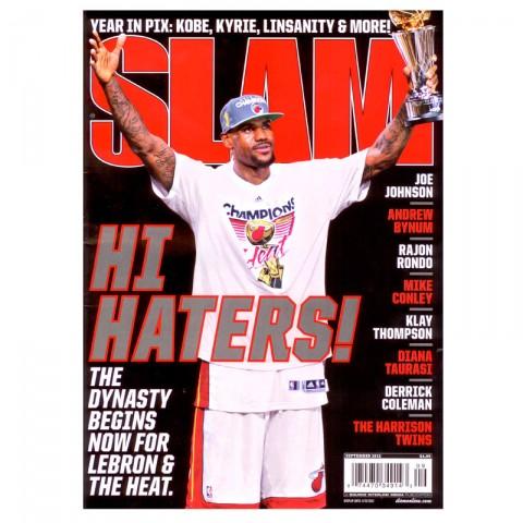 Купить  журнал slam в магазинах Streetball - изображение 1 картинки