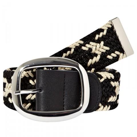 черный  ремень 2-tone braided 035182-black - цена, описание, фото 1