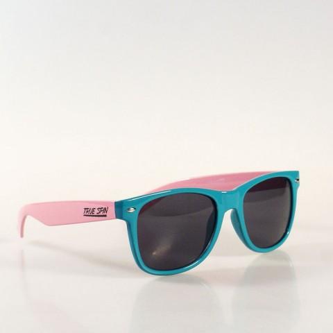 бирюзовые, розовые  очки TS010-turq-ltpink - цена, описание, фото 1