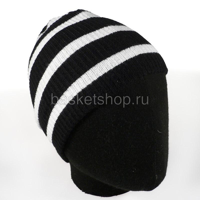 черную, белую  шапка daily W11105 blk - цена, описание, фото 1
