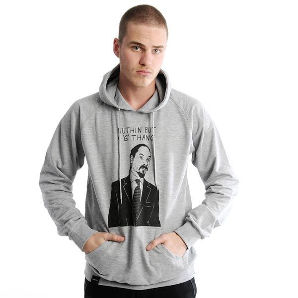 Толстовка G ThangТолстовки свитера<br>70% хлопок, 30% полиэстер<br><br>Цвет: серый<br>Размеры US: L<br>Пол: Мужской